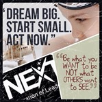 Dream big, start small act now
